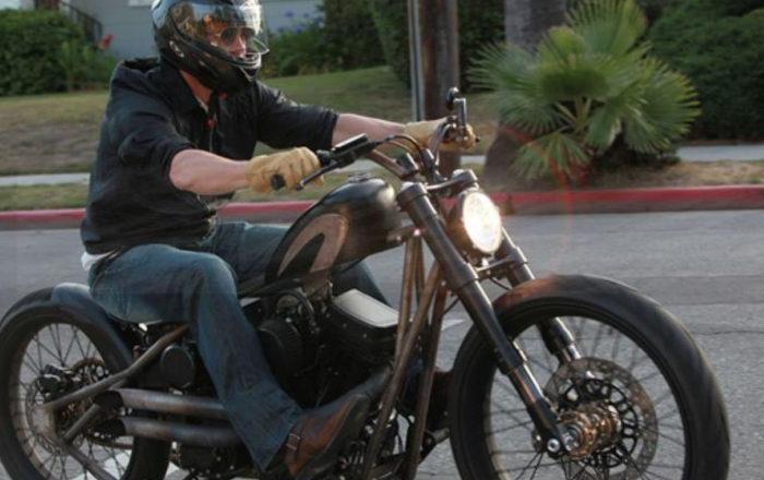 10 famosos aficionados de las Motos