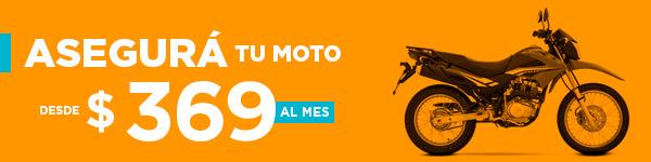Asegurá tu Moto desde $269